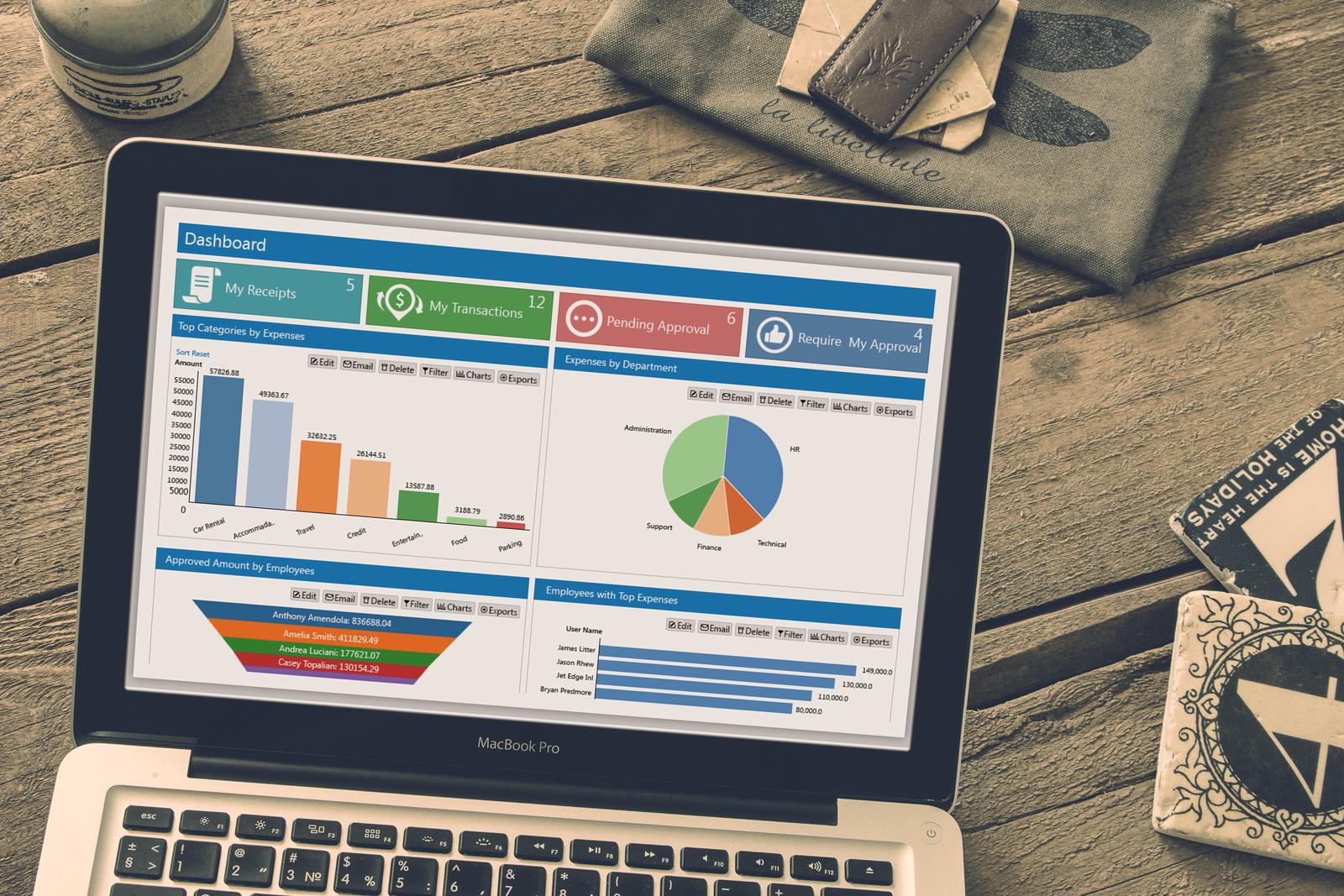 Cloud-based Expense Software - SutiExpense
