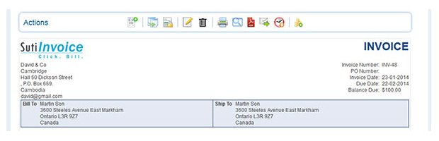 view invoices online